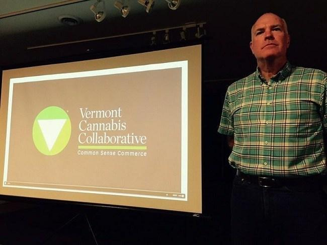Vermont State Senator Joe Benning acknowledged that there may not be enough support in the legislature yet for legalizing marijuana. But he thinks it might make sense to regulate that industry and perhaps even reap some economic rewards from it. Credit Charlotte Albright / VPR