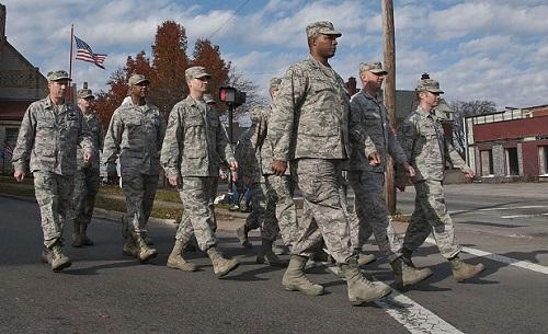 VeteransDayParadeMansfieldOhio2014