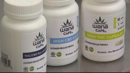 A Boulder marijuana company says its capsules are a breakthrough for medical marijuana patients. Photo: CBS4 Denver