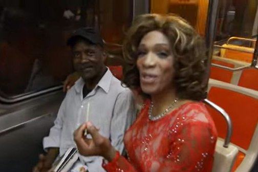Philly activist N.A. Poe and some fellow pot proponents borrowed a page from the Whitney Houston songbook. Screenshot/ Youtube