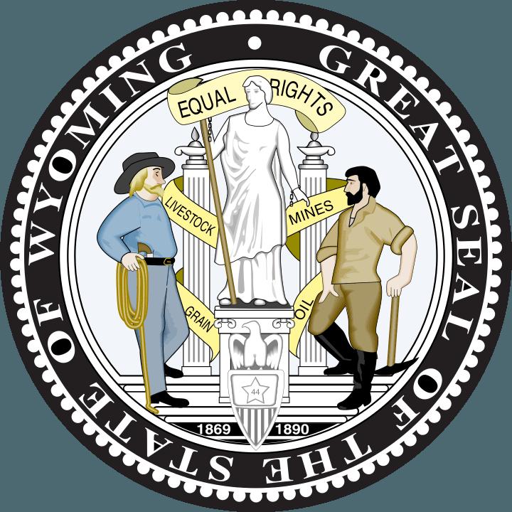 Wyoming State Seal. Image via Wikimedia Commons
