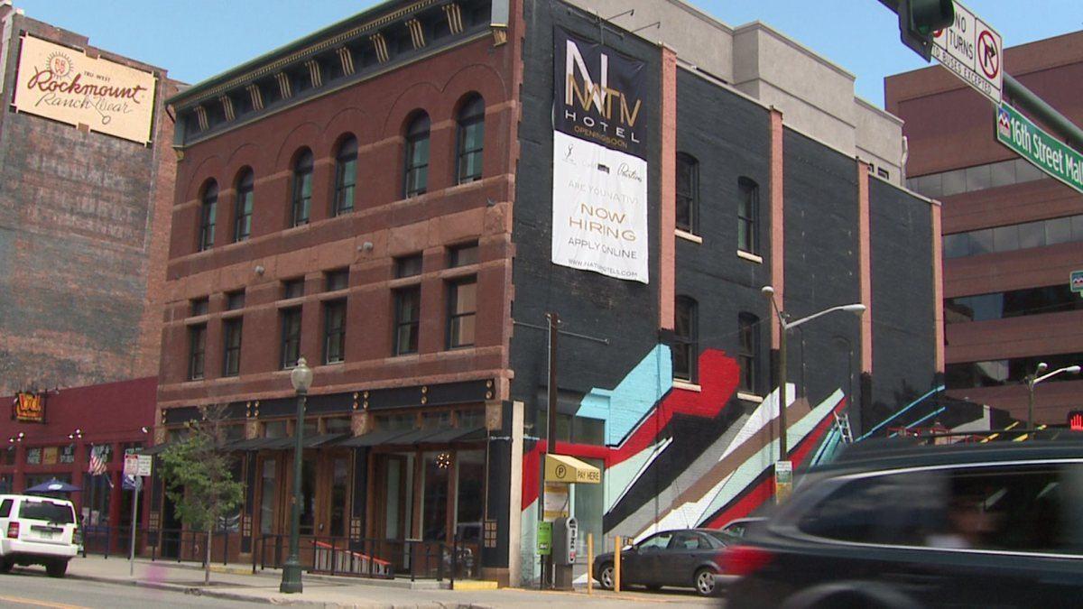 Image of the Nativ Hotel, Denver's first marijuana friendly hotel.