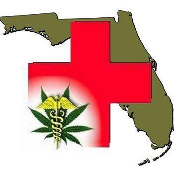 Florida state map/medical marijuana