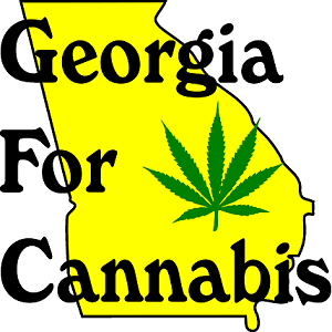 Image of Georgia for cannabis logo