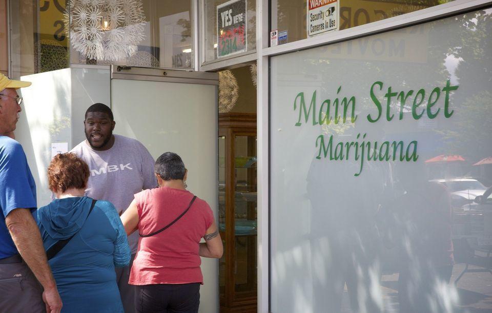 Image of Main Street Marijuana, Washington state's top recreational marijuana store