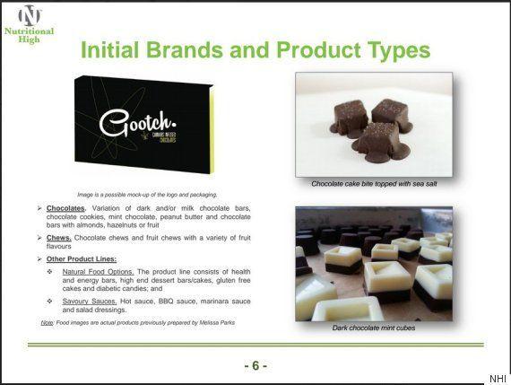 Image of recreational edible marijuana chocolate