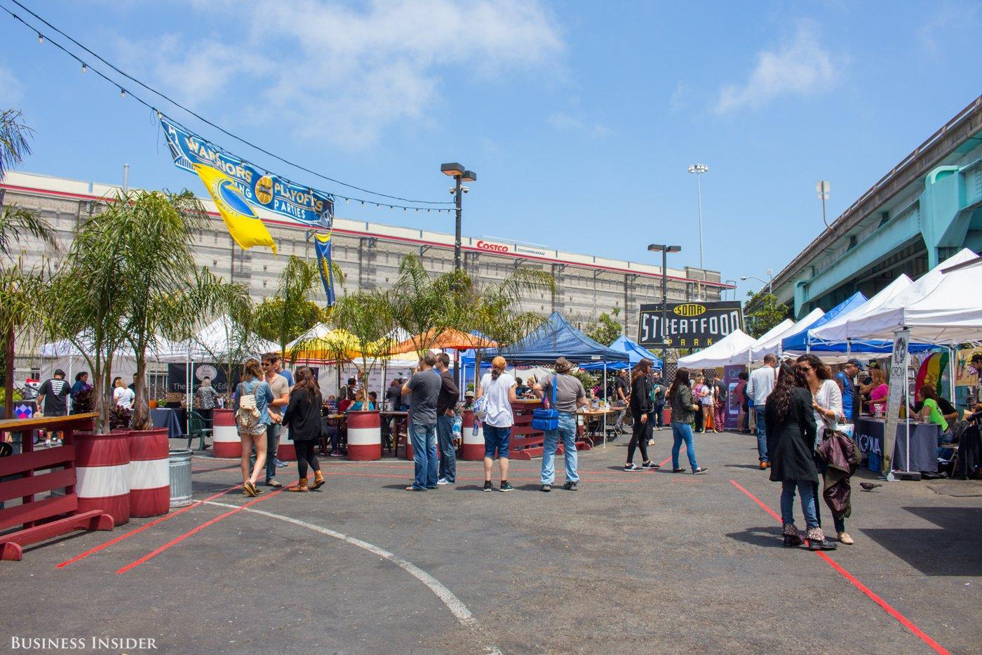 Scene at the Bay Area Get Baked Sale - Melia Robinson/Business Insider
